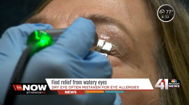 Find relief from dry eye syndrome